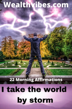 22 powerful morning affirmations
