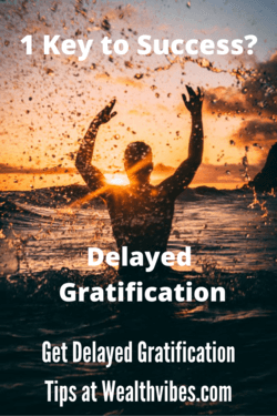 1 key to success delayed gratification quotes
