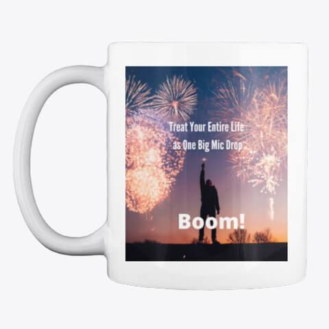 motivation store boom mug