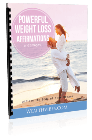 weight loss affirmations list pdf