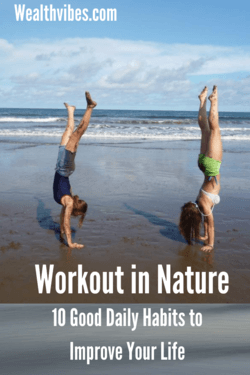 workout in nature 10 good daily habits