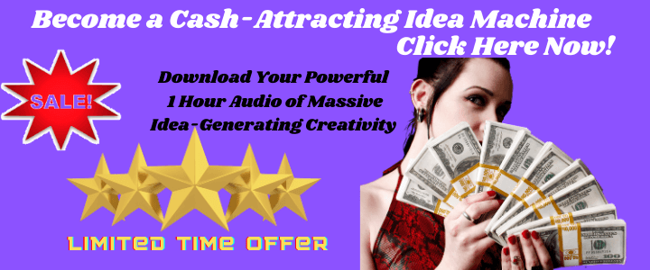 Creativity Affirmations to Become an Idea Machine 1 hour audio for creativity