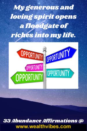 abundance affirmations pdf free wealthvibes