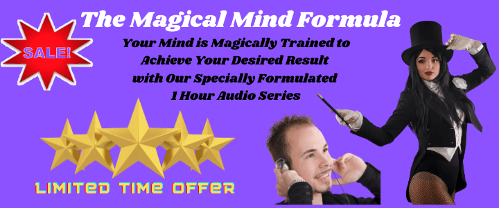 Magical Mind Formula 1 Hour Affirmations Audio mp3 series