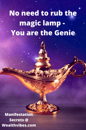 manifestation secrets and techniques you are the genie