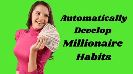 Develop millionaire habits wealthvibes girl waving cash