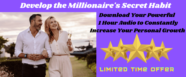 millionaires secret habit personal growth affirmations for growth millionaire with wife in front of helicopter