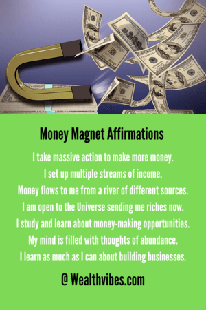 money magnet affirmations