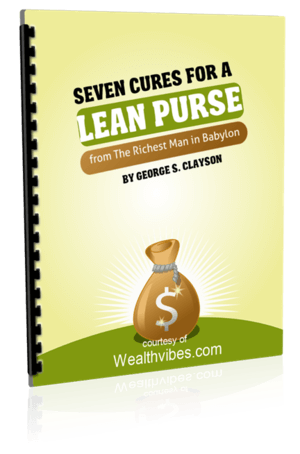 Seven cures for a lean purse pdf from Richest Man in Babylon