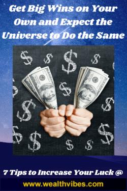 good luck affirmations get big wins at wealthvibes.com