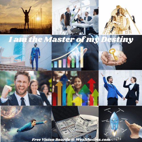 business success vision board