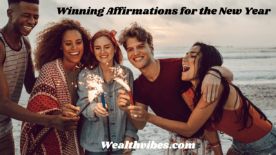 Winning Affirmations for Success in the New Year