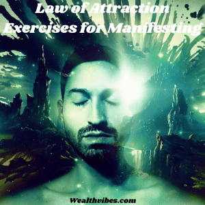 law of attraction exercises for manifesting man eyes closed manifesting