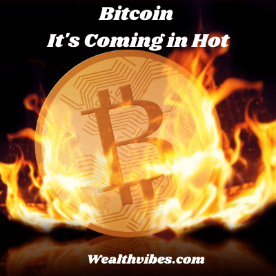 Bitcoin profits my money diary story at wealthvibes - flaming bitcoin