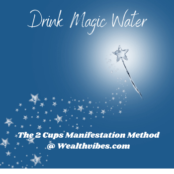 Drink Magic Water 2 cups method