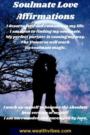 affirmations for love and soulmate romance
