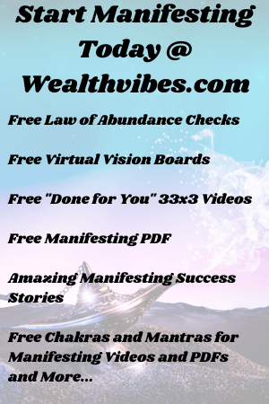 Manifesting using free tools at wealthvibes