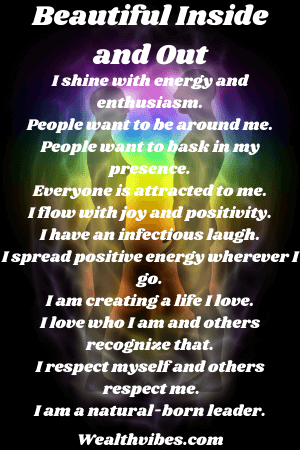 Beautiful inside and out affirmations