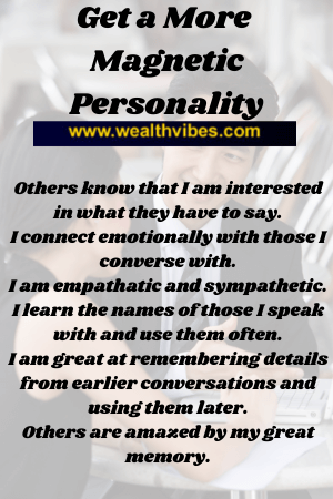 magnetic personality affirmations